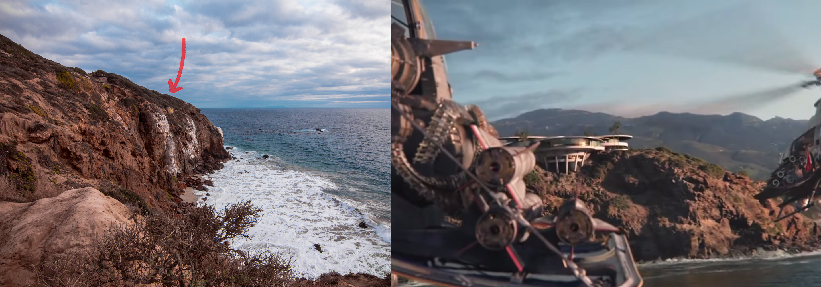 Tony Stark Iron Man Malibu House Comparison Road Trip Randy
